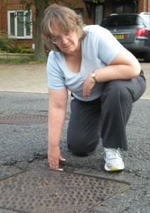More potholes to go on Lichfield Down