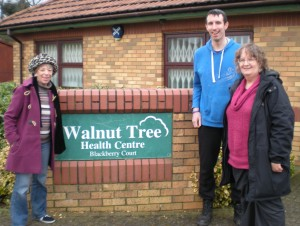 The Focus team at Walnut Tree surgery where expansion is desperately needed