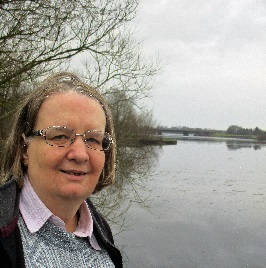 Jenni Ferrans has investigated road noise coming from the V10 across Caldecotte Lake.