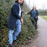 And in Monkston. Jenni and Richard have reported several areas of brambles, and are asking the Council to trace the owners of this patch near Wymondham.